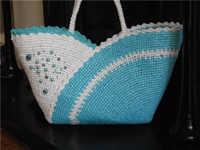 сумки из полиэтиленовых
