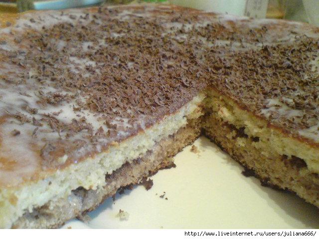 Рецепт пражского торта с фото