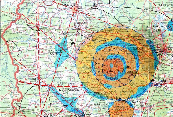 Аномальные зоны москва и подмосковье