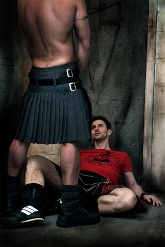 парни в килте порно фото
