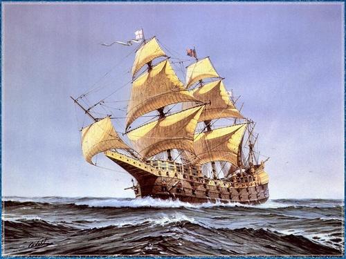 Человечество издавна встречается с необычными явлениями природы.  Одно из них - корабли -призраки.