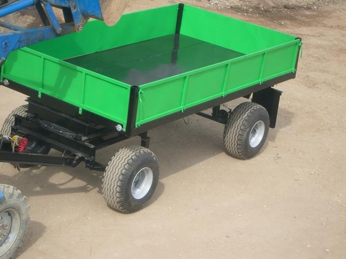 Как сделать тракторную телегу видео