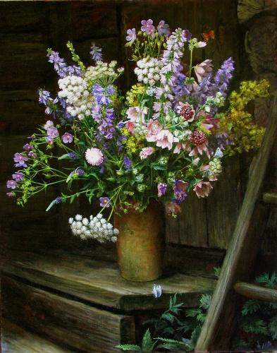 Записи цветы в интерьере фото цветы