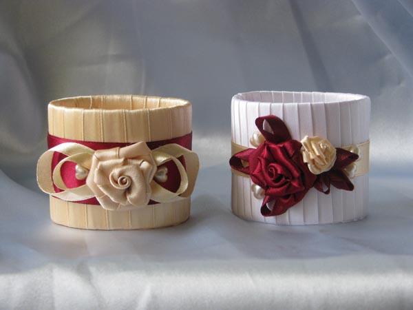 Как сделать для салфетки кольцо
