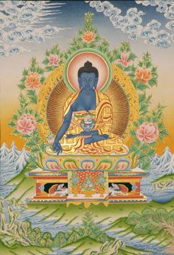 Будда медицины по тибетски сангье