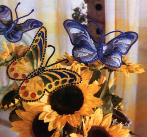 Бабочки: предпросмотр.