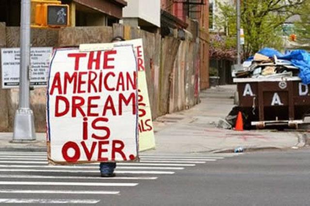 Американская мечта, или Печальный рейтинг