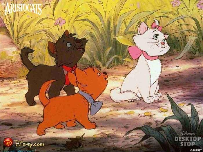 Мультфильм про дартаньяна и кошек