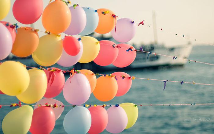 Фото, воздушный шар, воздушные шары, шары, удар, лодки, красочные.