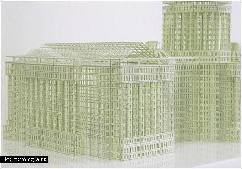 Архитектура из бумаги схемы - Поделки