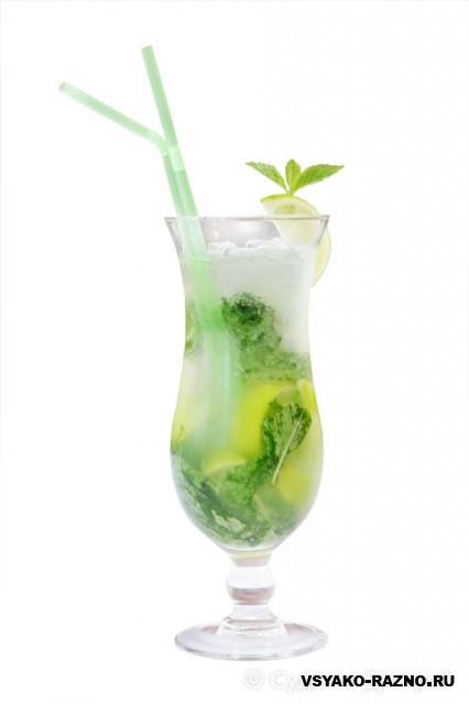 Вообще, есть два вида коктейля мохито - слабоалкогольный и...