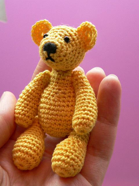Медведь узор спицами