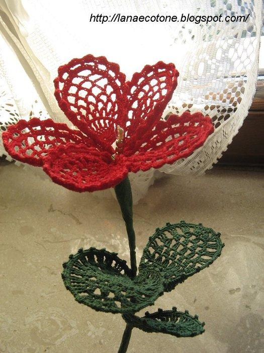 Мастер Класс-Вяжем шикарные цветы!