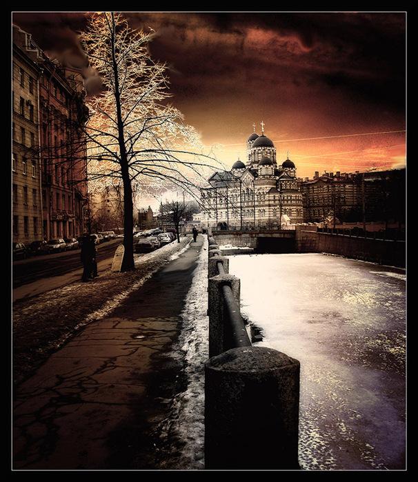 Сай_0605 Санкт-Петербург через объектив Г.Блохина.Петербург,Петроград,Ленин