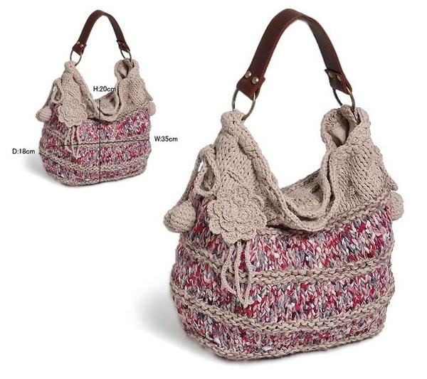 Фото сумок, сумки связанных крючком - вязание крючком.
