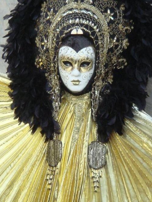 свой цитатник или сообщество!  Карнавальные венецианские маски.