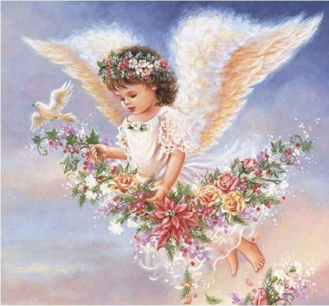 свой цитатник или сообщество!  Lanka_40. очаровательные ангелочки.  Цитата сообщения.  АНГЕЛЫ-картинки для декупажа...