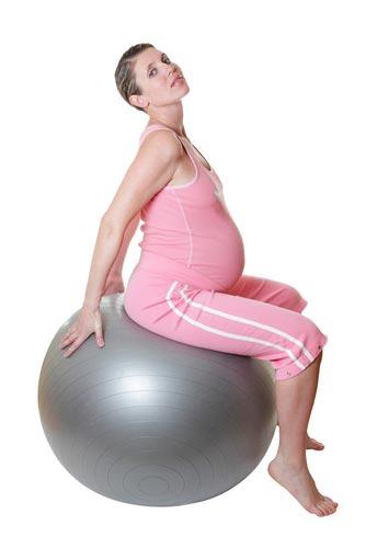 Фитбол для беременных упражнения