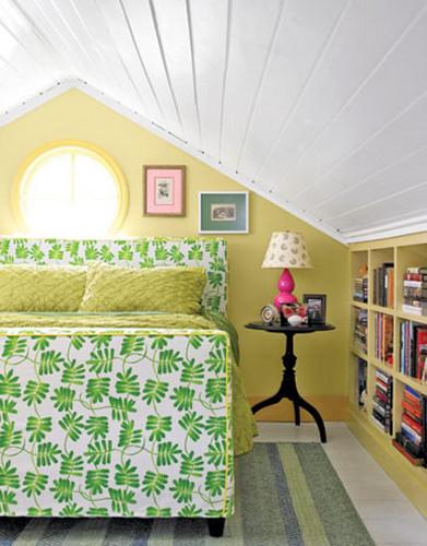 Стиль и мебель для маленькой спальни.