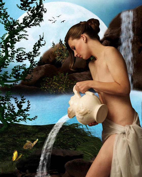 Женщина-Водолей легко становится любовницей-другом, она очень пряма и довол