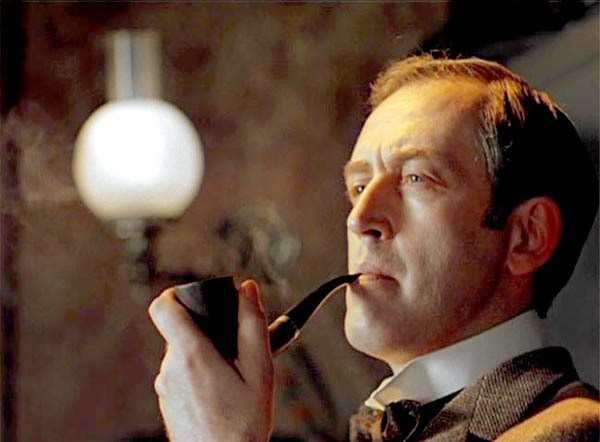 "Схема вышивки  ""Шерлок Холмс в лице Роберта Дауни мл."