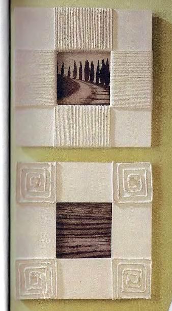 Как сделать декоративный валик для штукатурки своими