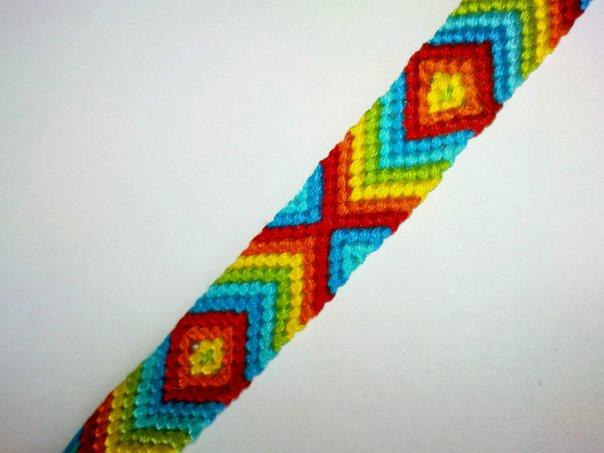 Статьи о фенечках, схемы для плетения фенечек, уроки, фотографии готовых фенечек.