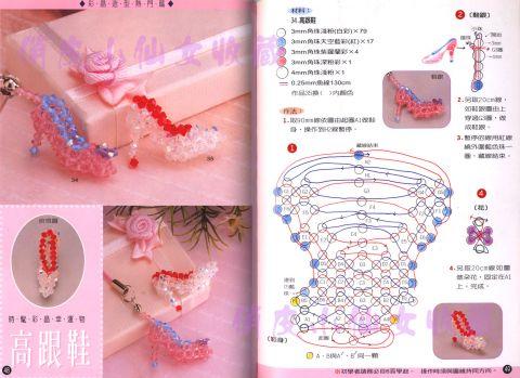 Схема плетения из бисера для начинающих для кукол