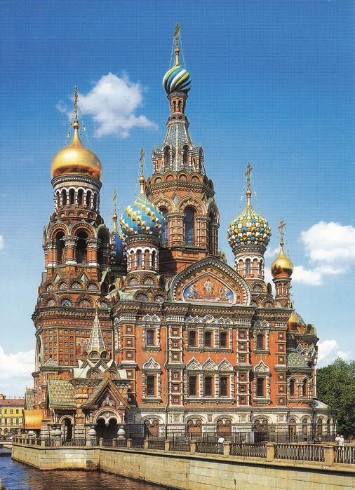 Храм Спаса на Крови - Санкт-Петербург.