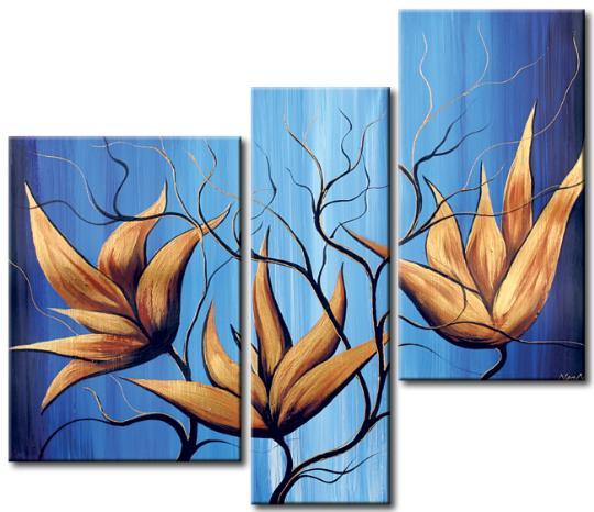 Девочки, у меня есть триптихи цветочные, правда схемы в Акробате! есть и другие, если показала не по теме...