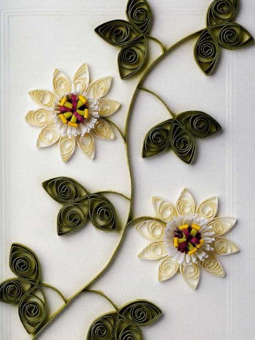 Часть 3 - Изготовление цветов из бумаги.