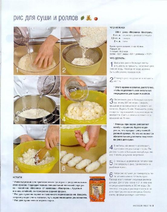 Рецепт роллов пошагово
