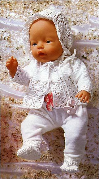 Вяжем для кукол своими руками
