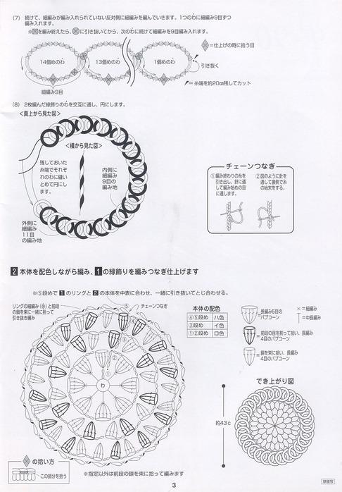 Вязание крючком материал пряжа поделка изделие вязание крючком японский коврик пряжа. вязание коровка коврик и шапка .