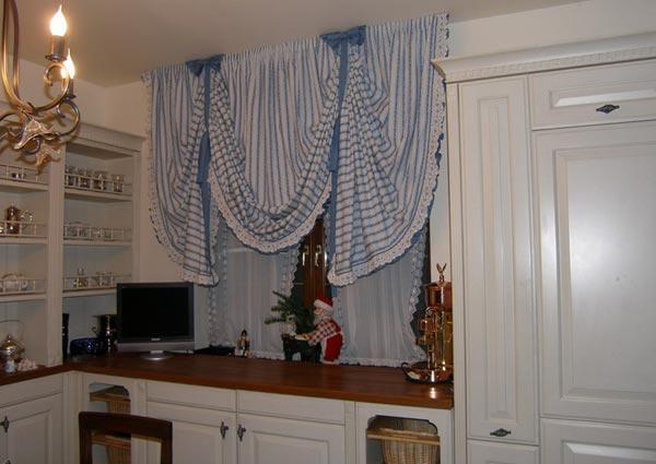Занавеска для кухни фото своими руками