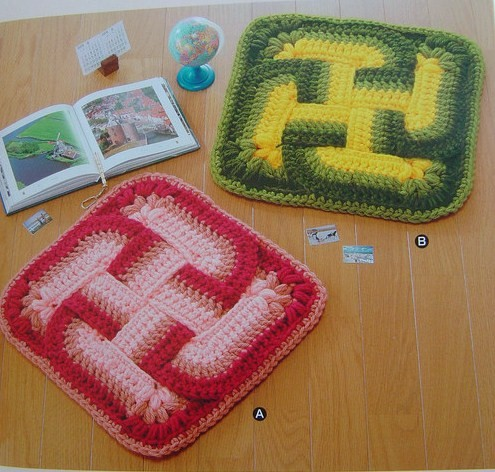 Dorm Room Throw Rug You Can Crochet - Better Homes and Gardens