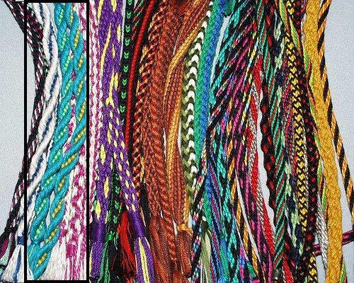 Плетение фенечек кумихимо.