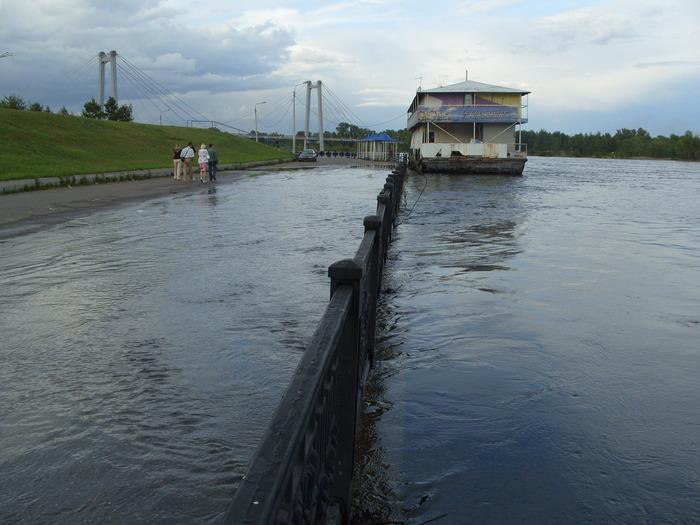 Набережная Красноярска. Фото: Илья Лабунский