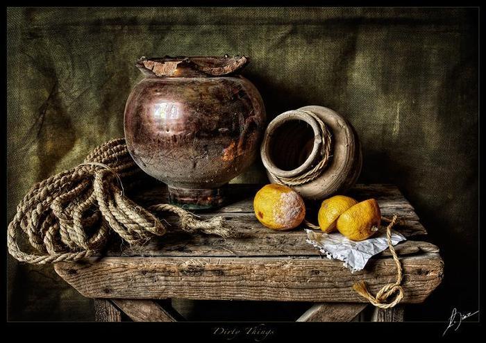 Фотореализм в живописи.  Антонио Диас.