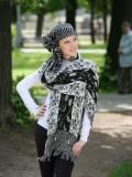 шарф снуд спицами - Выкройки одежды для детей и взрослых.