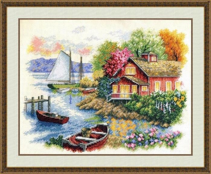 Схемы вышивки по картинам художниками