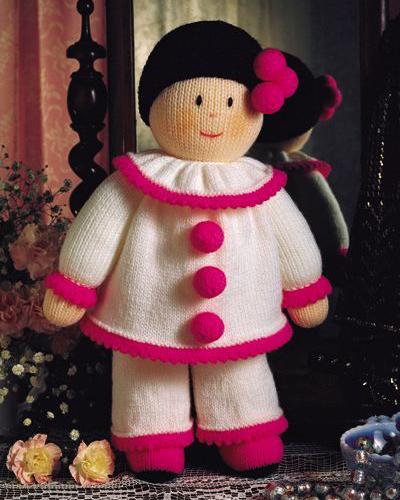 Схемы вязания кукол