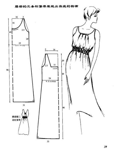 Как быстро сшить простое летнее платье.