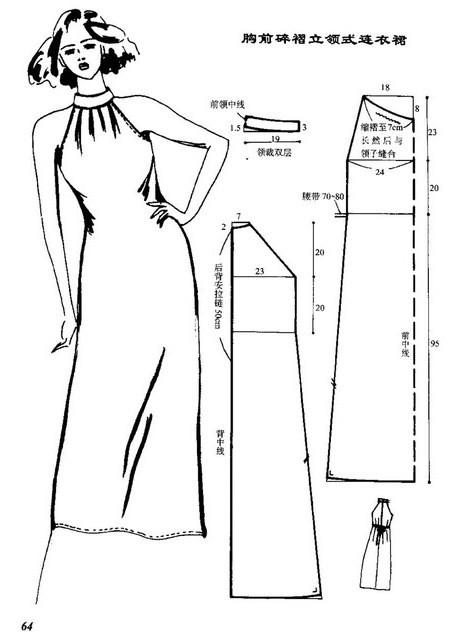 Шьем платье выкройки