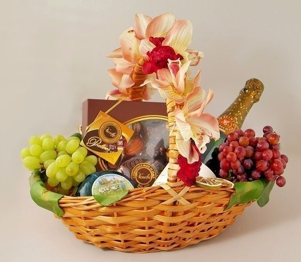 Поздравление на день рождения с фруктами 79