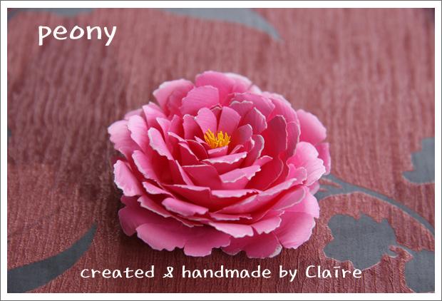 Очаровательные цветы своими руками - ПИОНЫ.