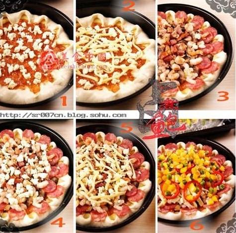 Как украсить пиццу фото
