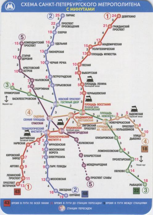 Карта схема метро расчет пути