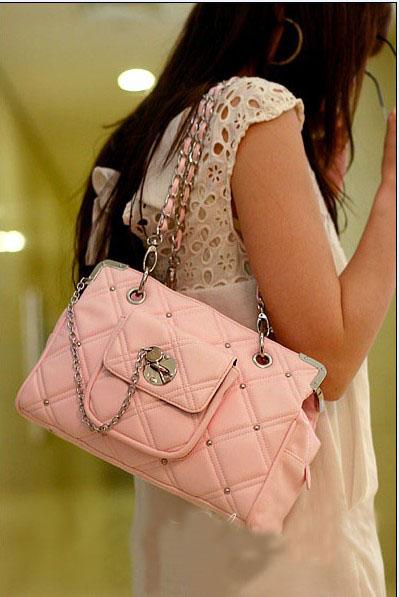 оптом розовая модная сумка.