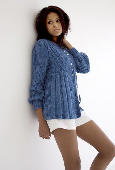 вязание спицами модели 2011 года летние женские кофточки фото.